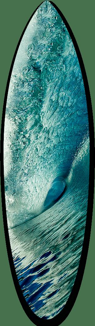 Big Blue Short Board