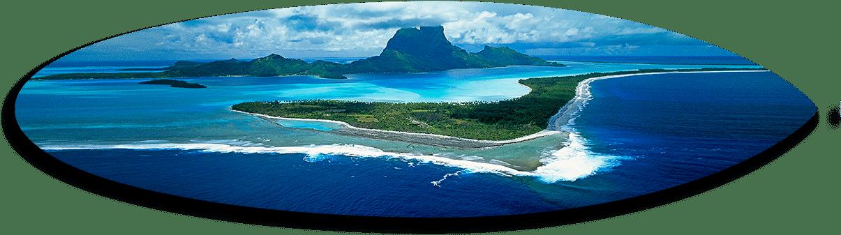 Bora Bora Aerial Short Board