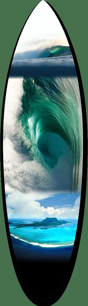 Emerald Shorebreak Short Board