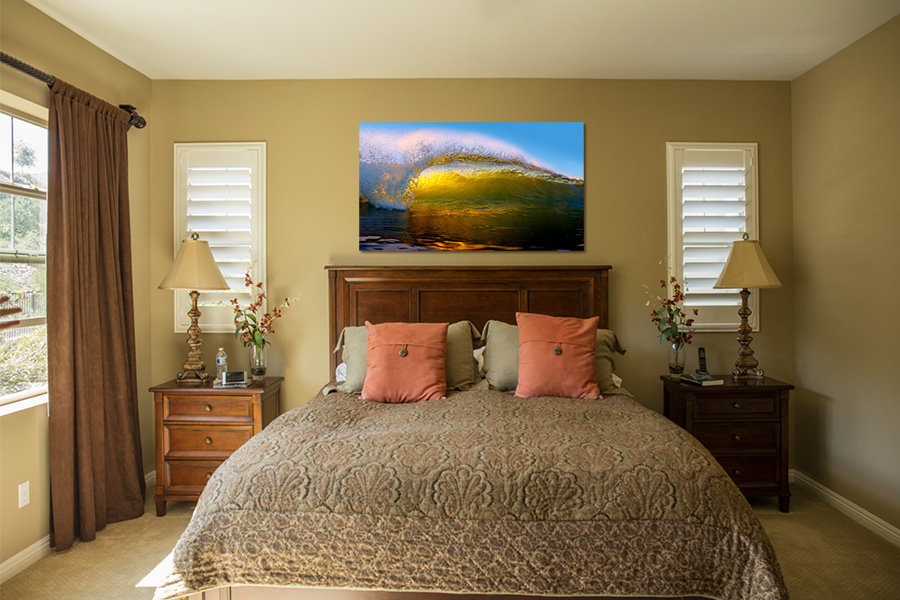 Step 3. Your sales consultant will send you a link to view your art selection on your wall.