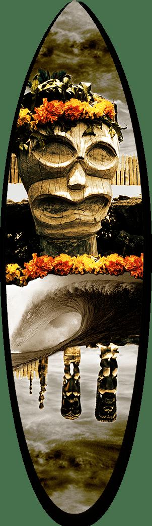 Tiki Collage