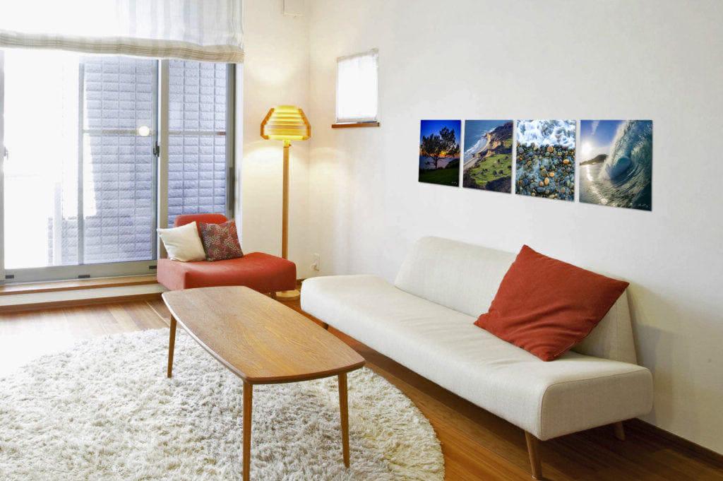 Torrey Pines Montage, living room
